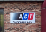 ACT Aluminum Sign