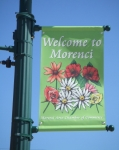 City of Morenci Spring Banner