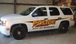 Morenci Police Vehicle