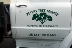 Tree Service Vehicle Door Graphics