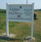 Center for Excellence Sign