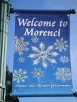 City of Morenci Winter banner